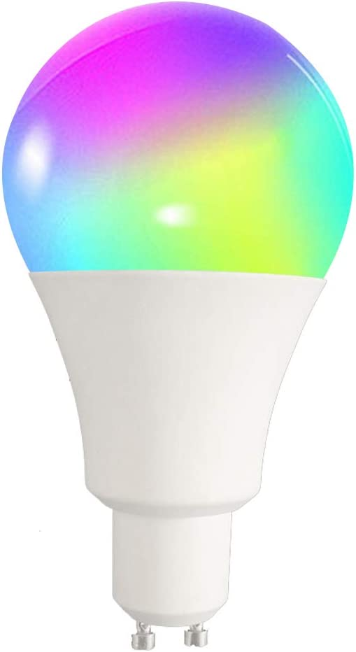 RHG WiFi Smart Light Bulb Bayonet 60W Equivalent,Dimmable RGBCW Multicolor Light Bulb Work with Alexa Energy Class A Google Home and IFTTT,No Hub Required