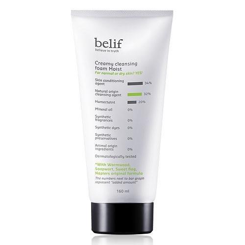 Belif-Creamy-Cleansing-Foam-Moist-Korean-Beauty-Imported