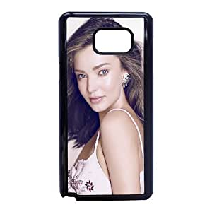 Miranda Kerr_021 High Quality Specially Designed Skin cover Case For Samsung Galaxy Note 5 Black