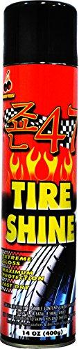 47 Spray Tire Shine, Silicone based tire shine, Non splatter tire shine, Long lasting formula, Wet look shine (Non Silicone Tire)