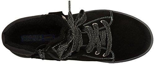 Richter Kinderschuhe Sonia Mädchen Hohe Sneakers Schwarz (black  9900)