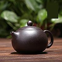 Black Zhu Mud Shih Ball Hole Yixing Purply Clay Teapot Chinese Kongfu Tea Pots 160ml