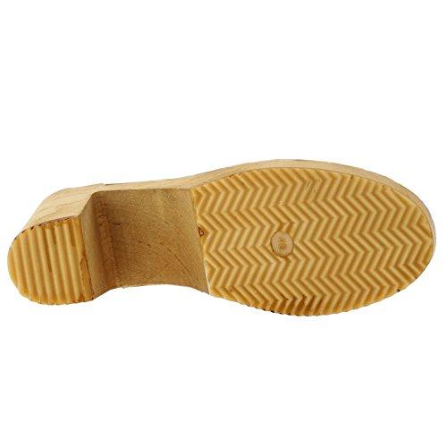 Moheda Womens Dolly Nubuck Sandals Navy