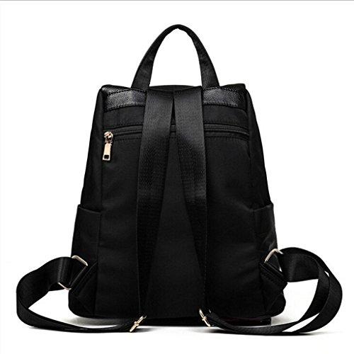 handbag bag Leisure leather Shoulder PU women Cosmetic bag Travel shoulder handbag amp;F Ladies package black tabby ZY Bags XqnCzv