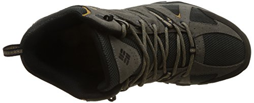 Columbia Mens Grand Canyon Mid Outdry Hiking Squalo Scarpa / Banana Scura
