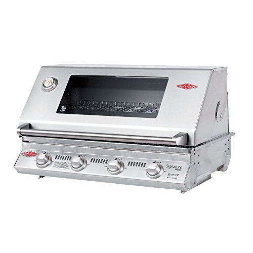 BeefEater 12840S Signature Premium Stainless Steel 4 Burner Built-In Gas ()