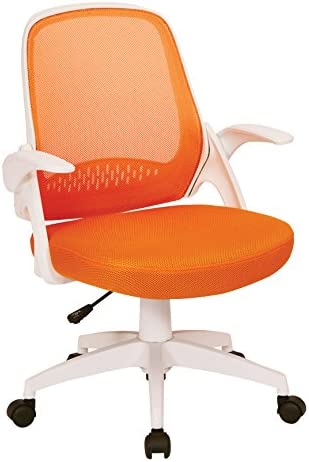 OSP Home Furnishings Jackson Mesh Back and Padded Mesh Seat Office Chair