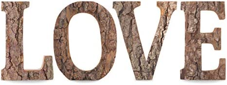 Letras en madera con decoraci/ón desuperh/éroes