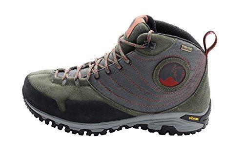 MISHMI TAKIN Jampui Mid Event Waterproof Light & Fast Hiking Shoe (EU 44/US M 11, Birch Rose) (Best Shoes To Wear In Italy)