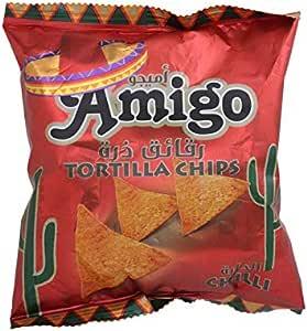 Amigo Tortilla Chilli Chips 25g