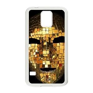 Luxury Gold Samsung Galaxy S5 Cell Phone Case White Xgnoi