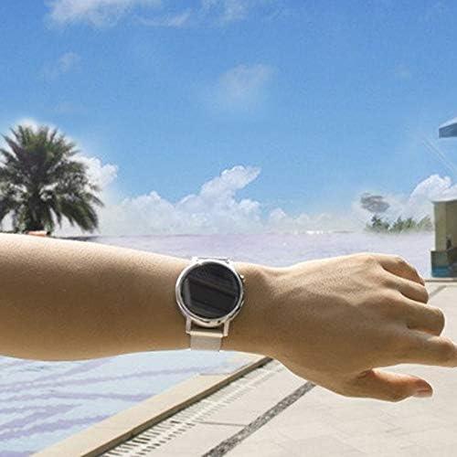 時計バンド ウォッチベルト マグネット式腕時計バンド スマート時計バンド 交換ベルト メッシュバンド (20mm, ブラック)
