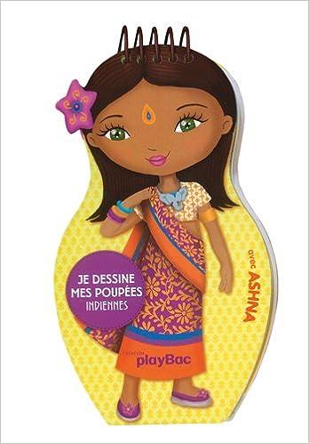 Lire un Carnets de dessin Minimiki : Je dessine mes poupées indiennes epub pdf