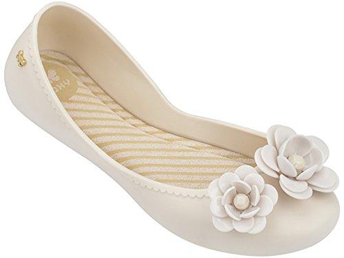 Ballet Las Off Zaxy Bombas de Blossom Mujeres White Zapatos Start del zHHwXq70