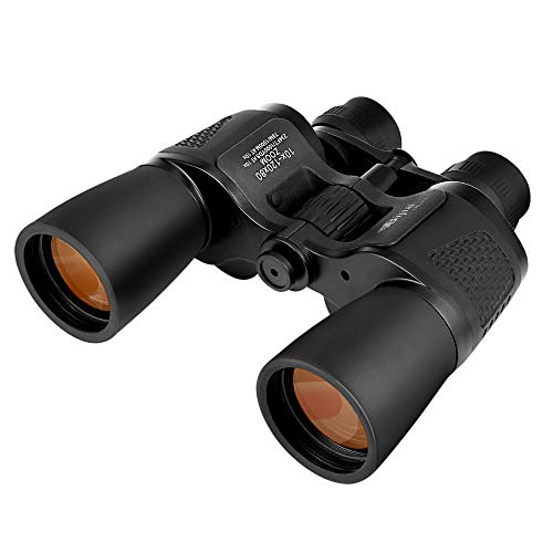 NACATIN 10×120Powerful Binocular with 50mm Objective Lens Foldable Compact BinocularsDurable Full-Size Clear for Bird Watching TravelSightseeing Hunting