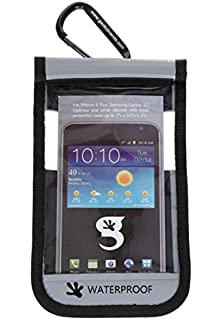 Amazon.com: Impermeable iPhone/teléfono móvil seco bolsa ...