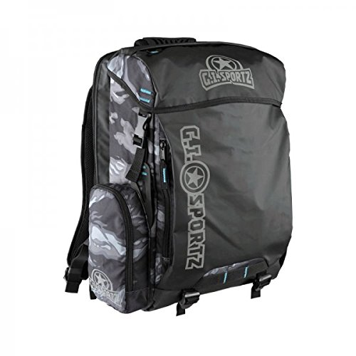 GI Sportz Paintball HIK'R 2.0 Backpack - Tiger Black by GI Sportz