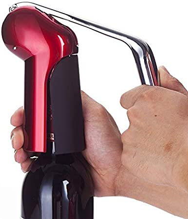 YILIAN Energía de aleación de Zinc Botella de abrelatas Botella Sacacorchos con Cortador de lámina Premium Conejo Palanca Sacacorchos para el Vino