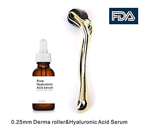 41AJzmQKCdL - Dermapeel anti aging serum hyaluronic acid serum.Facial Moisturizer skin care+Beauty roller tools-o0s