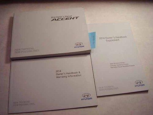 2014 Hyundai Accent Owners Manual