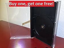Sega Saturn or Sega CD replacement game cases PS1 Longbox 10 pack