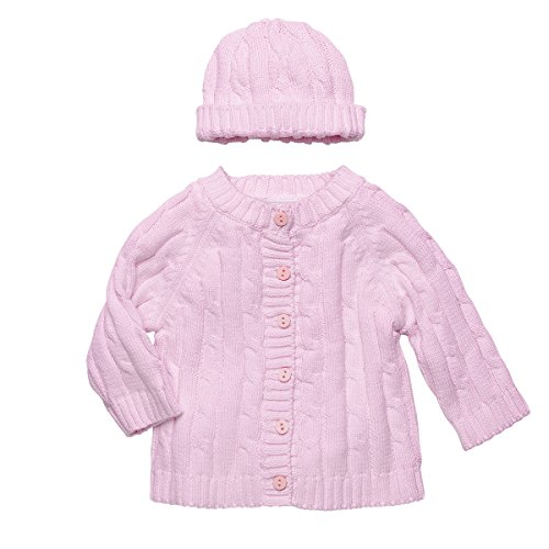 Elegant Baby Girls Cable Sweater product image