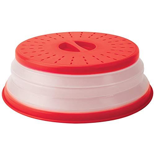 Tapa de silicona plegable para microondas con ventilación, sin BPA ...
