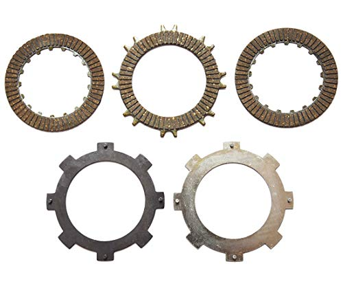 (Clutch Friction Plate Set For Honda CRF50 CRF70 C70 CT70 TRX70 XR50 XR70 Clutch Disc Set)
