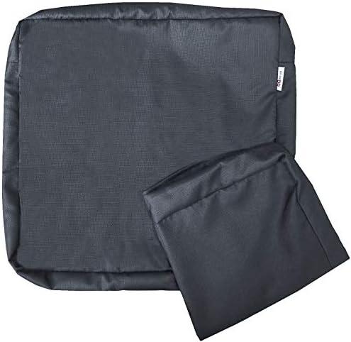 6 Pack Outdoor Patio Chair Waterproof Cushion Pillow Seat Duvet Covers 18″X16″X4″ 20″X18″X4″ 24″X22″X4″ 23″X23″X5″ 25″X25″X5″