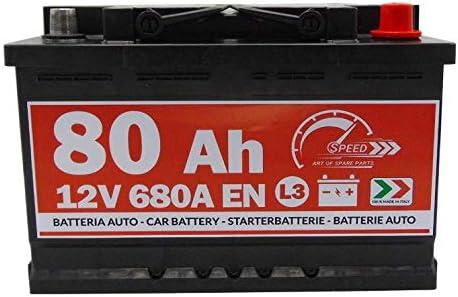 AUTOBATTERIE Speed L380-80AH 680A EN 12V