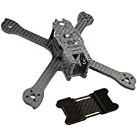 iFlight RACER iX5 V2 5 inch 200mm Low Ride FPV Quadcopter Frame Kit Carbon Fiber with Battery Protector Plate