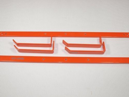 ski-caddie Orange, Design Wandhalterung für Ski