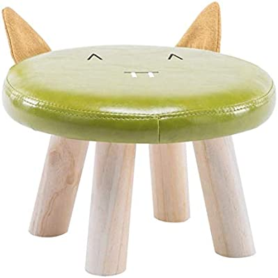 Amazon.com: Carl Artbay Wooden Footstool Childrens Baby ...