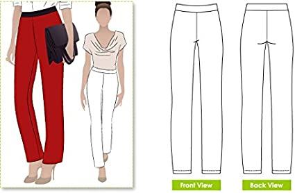 Barbs Stretch Pant Sizes 04-16 Style Arc Sewing Pattern - Click for Other Sizes Available