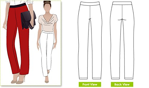 Style Sewing Pattern (Style Arc Sewing Pattern - Barb's Stretch Pant (Sizes 04-16) - Click for Other Sizes)