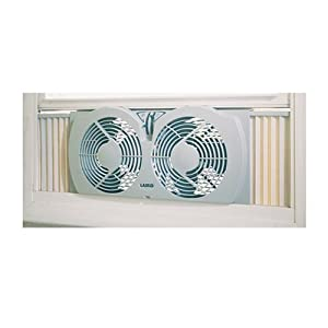 Amazon Com 7 Quot Twin Window Fan Home Amp Kitchen
