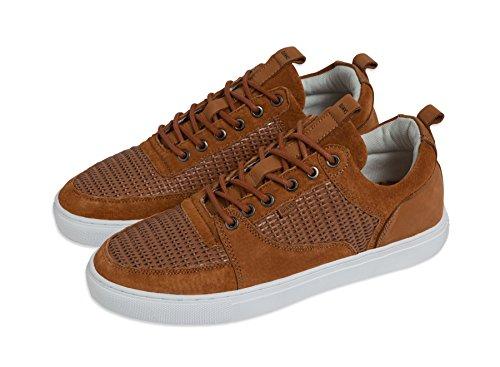 Djinns ForLow Sneaker Turnschuh Lux Woven Sand
