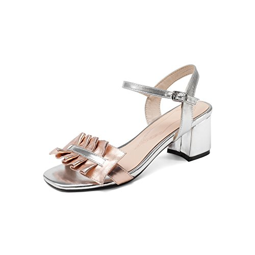 AdeeSu Womens Ruched Charms Travel Urethane Sandals SLC03945 Pink