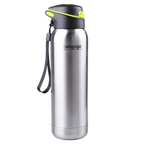Omgogo-Water-BottleStainless-Steel-Water-BottleDouble-Wall-Insulatedthermos-water-bottle-with-straw-perfect-for-Sports-Running-Gym-Yoga-Crossfit-Tennis-MMA-Travel-Hiking-or-Office-Use