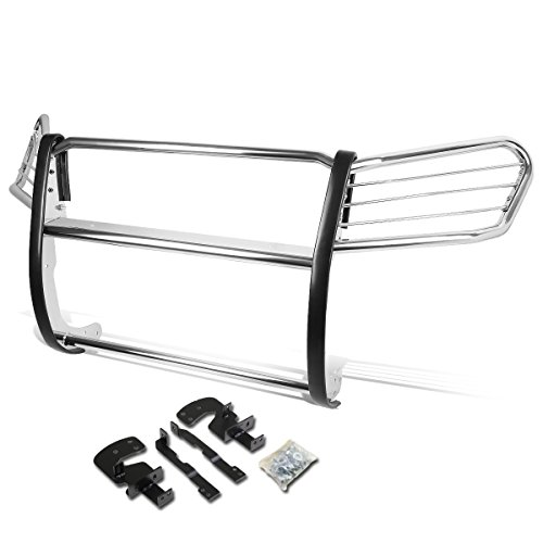 (For 4Runner / SW4 SUV N210 Front Bumper Protector Brush Grille Guard (Chrome))