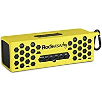 New Rocksteady 2 LOUD and CLEAR Portable Durable Bluetooth Speaker True 2.1 Stereo sound Integrated Speakerphone Water and Drop Resistant