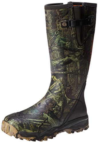 "LaCrosse Men's Alphaburly Pro 18"" Side Zip Hunting Boot,Moss"