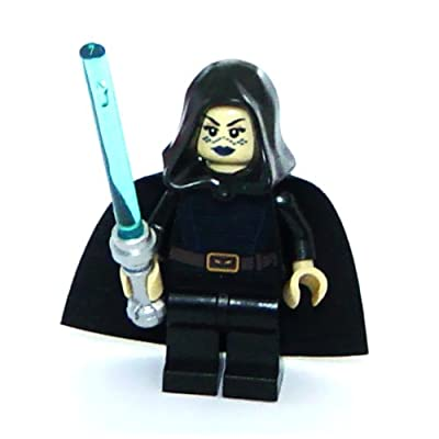 Lego Star Wars: Jedi Barriss Offee Minifigure With Blue Lightsaber: Toys & Games