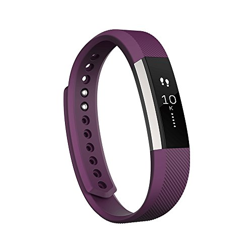 Fitbit Alta Wireless Activity and Fitness Tracker Wristband, Plum, Small (5.5-6.7 in) (Renewed)