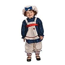 Rubies Yarn Babies Ragamuffin Dolly Costume, Toddler