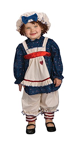 Yarn Babies Ragamuffin Dolly Costume, Toddler (Toddler Raggedy Ann Costume)