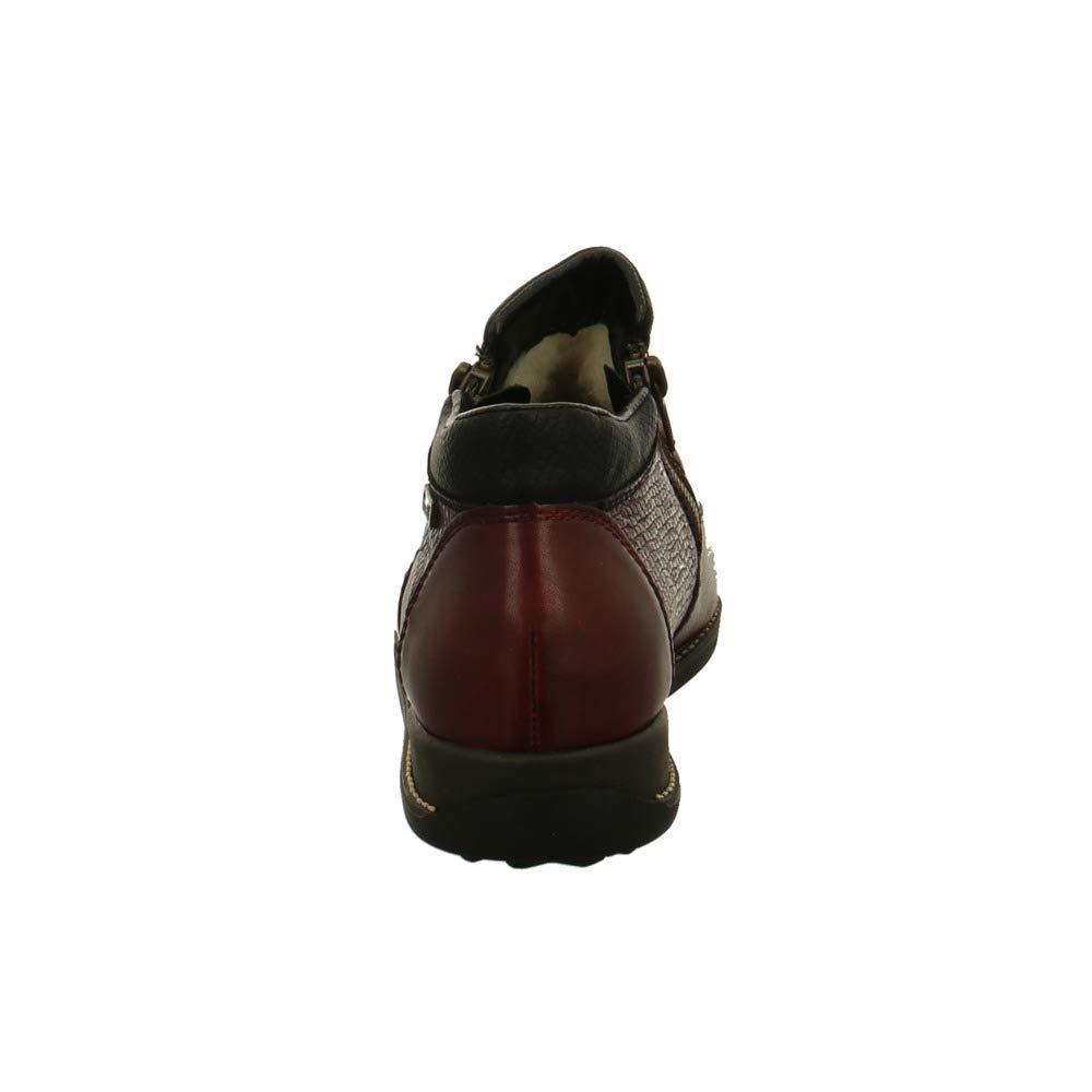 Rieker Damen Stiefeletten Dunkelroter Stiefel Stiefel Stiefel 44280-35 rot 593853 fbb321