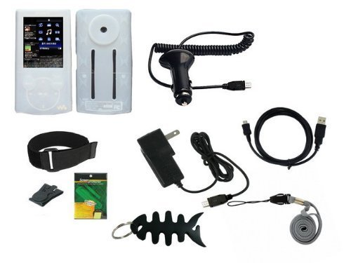 9 items Premium Accessories Bundle Combo for Sony Walkman NW
