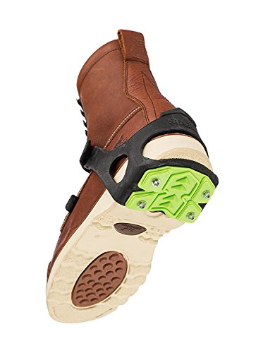STABILicers STABIL HEEL Traction Ice Heel Cleat with Steel Cleats and Tread for Snow, Ice, Attaches over Shoes and Boots for Safety in Outdoor Winter Weather and Slippery Terrain, OS by STABILicers (Image #4)
