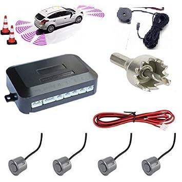 Kit de 4 sensores de aparcamiento para coche, furgonetas y ...